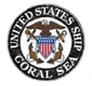 'USS Coral Sea - Original Ships Logo' from the web at 'http://usscoralsea.net/images/orgshiplog.png'