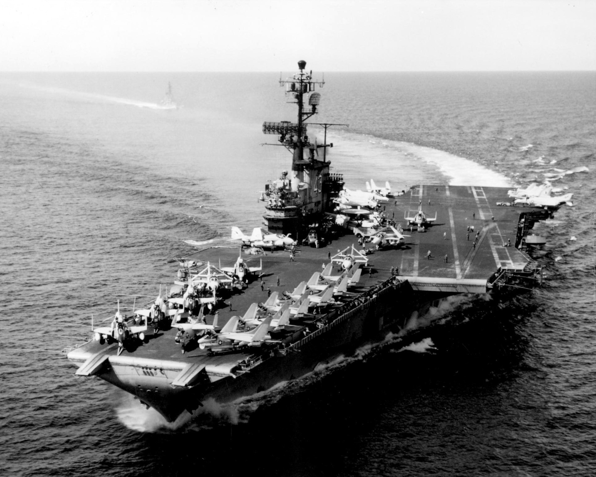 USS Coral Sea Tribute Site - Pictures 1970's - Page 1